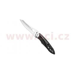 LEATHERMAN SKELETOOL KB - zavírací nůž s otvírákem lahví, rovná čepel, vyrobeno v USA, záruka 25 let
