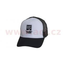 Čepice s kšiltem a výšivkou Leatherman, černá + bílá