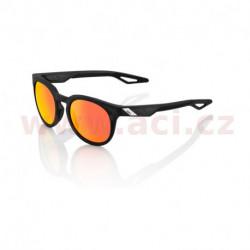 sluneční brýle CAMPO Matte Crystal Black, 100% - USA (zabarvená červené skla)