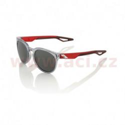 sluneční brýle CAMPO Polished Crystal Grey, 100% - USA (zabarvená kouřové skla)