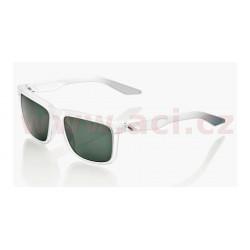 sluneční brýle BLAKE čiré, 100% - USA (zabarvená zelená skla)