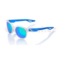 sluneční brýle CAMPO Polished Crystal Clear, 100% - USA (zabarvená zelená skla)