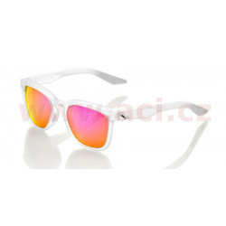 sluneční brýle HUDSON Crystal Clear, 100% - USA (zabarvená fialová skla)