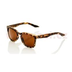 sluneční brýle HUDSON Soft Tact Havana, 100% - USA (zabarvená bronzová skla)