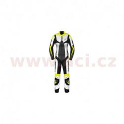 dvoudílná kombinéza POISON, SPIDI - Itálie, dámská (černá/bílá/žlutá)