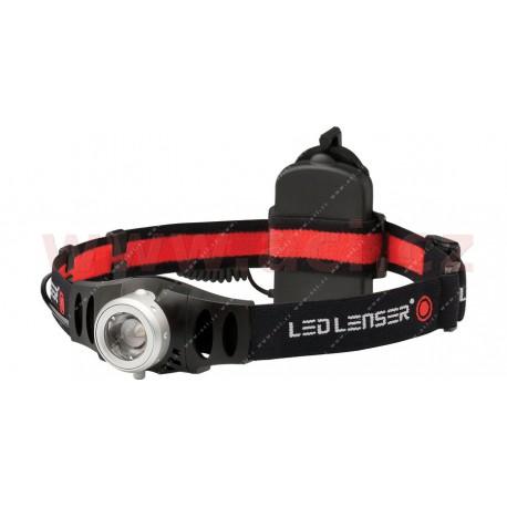 LED LENSER H6R - svítilna se superledkou, čelovka dobíjecí, dosvit 120 m
