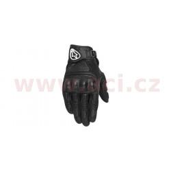 rukavice Mustang, ALPINESTARS - Itálie (černé)