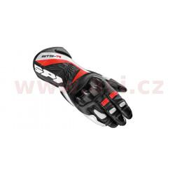 rukavice STS R LADY, SPIDI - Itálie, dámské (černé/bílé/červené)