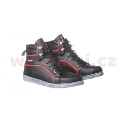 boty Commuter, KORE (černé/červené)