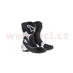 boty SMX-S, ALPINESTARS - Itálie (černé/bílé)