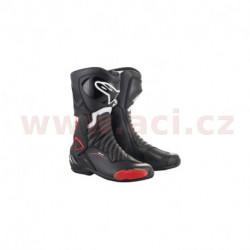 boty S-MX 6, ALPINESTARS - Itálie (černé/červené)