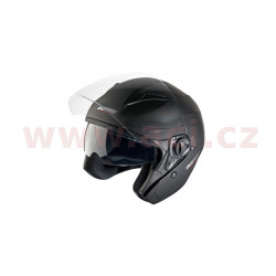 přilba N124, NOX - Francie (černá matná)