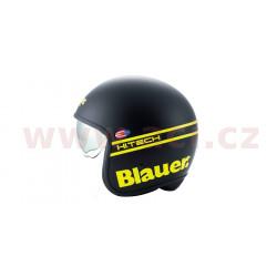 přilba PILOT 1.1 H.T., BLAUER - USA (černá matná/žlutá fluo)