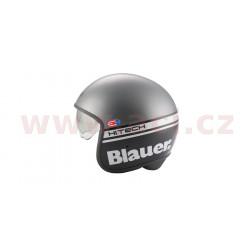 přilba PILOT 1.1 H.T., BLAUER - USA (černá matná/šedá)