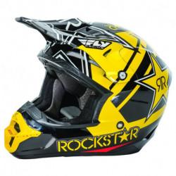 přilba Kinetic Pro Rockstar, FLY RACING - USA (žlutá/černá)