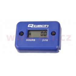 měřič motohodin, QTECH (modrý)