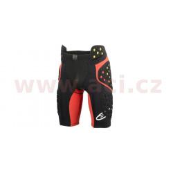 šortky pod kalhoty SEQUENCE PRO 2019, ALPINESTARS - Itálie (černé/červené/žluté fluo)