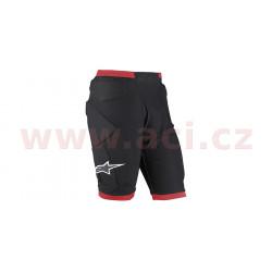 šortky pod kalhoty COMP PRO, ALPINESTARS - Itálie, (černá/červená)