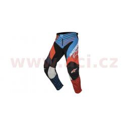 kalhoty Racer Braap 2017, ALPINESTARS - Itálie, dětské (modré/oranžové fluo/černé/tmavě modré)