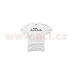 triko BLAZE krátký rukáv, ALPINESTARS - Itálie (bílé/černé)