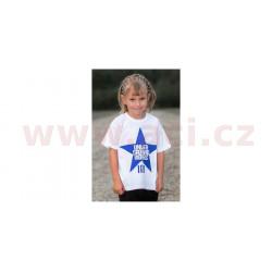 tričko EVEL KIDS krátký rukáv, 101 RIDERS - ČR, dětské (bílé)