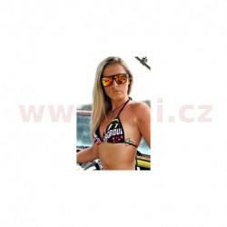 plavky BRA SB 18 BIKINY, 101 RIDERS dámské (fialová/černá)