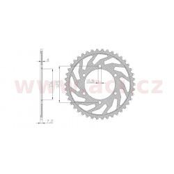 ocelová rozeta pro sekundární řetězy typu 525, SUNSTAR (49 zubů)