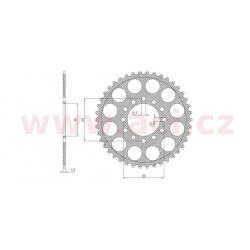 duralová rozeta pro sekundární řetězy typu 520, SUNSTAR (43 zubů)