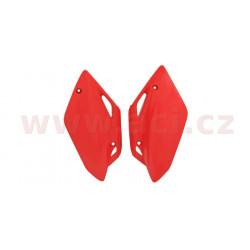 boční číslové tabulky (Honda CRF 150 R/RB 07-16), RTECH (červené, pár)