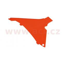 boční kryt vzduchového filtru pravý KTM, RTECH (oranžový)