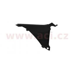 boční kryt vzduchového filtru pravý KTM, RTECH (černý)