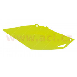 boční číslové tabulky Honda, RTECH (neon žluté, pár)