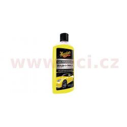 MEGUIARS Ultimate Wash & Wax - autošampon s carnauba voskem a syntetickými polymery 473 ml