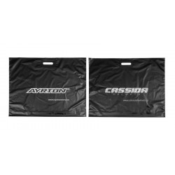 Igelitová taška CASSIDA + AYRTON - rozměr 68 x 56 cm