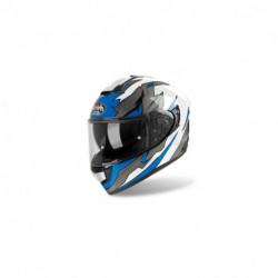 přilba ST 501 BIONIC, AIROH - Itálie (bílá/modrá)