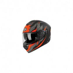 přilba ST 501 BIONIC, AIROH - Itálie (oranžová/černa)