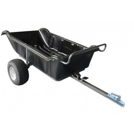 SHARK ATV TRAILER GARDEN 680 BLACK, 2 WHEEL