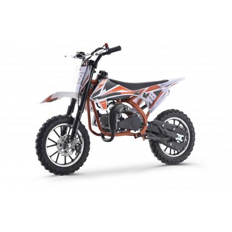 Minicross Leramotors Devil Deluxe 49cc 2T oranžová