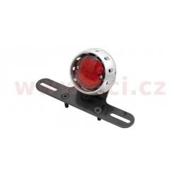zadní světlo LED s osvětlením a držákem RZ (průměr sklíčka 56 mm, celkem 72 mm)