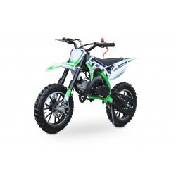 Minicross Leramotors Dark 49cc 2T Barva - Zelená
