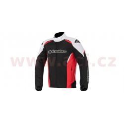bunda Gunner Waterproof, ALPINESTARS - Itálie (černá/bílá/červená)