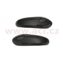 slidery špičky pro boty Supertech R/SMX PLUS/SMX-6/SMX S a SMX-1 R, ALPINESTARS - Itálie (slitina hliníku/plast, pár)