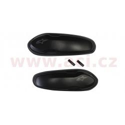 slidery špičky pro boty Supertech R/SMX PLUS/SMX-6/SMX S a SMX-1 R, ALPINESTARS - Itálie (černé, plast, pár)