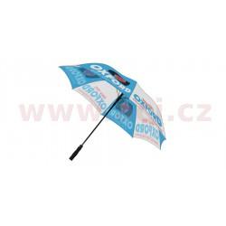deštník, OXFORD - Anglie (modrá/bílá)