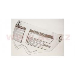 plexi pro přilby N605/N606, NOX - Francie (čiré)
