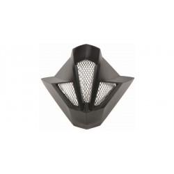 čelní kryt ventilace pro přilby Cross Cup, CASSIDA - ČR (černý)