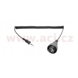 redukce pro transmiter SM-10: 5 pin DIN kabel do 3,5 mm stereo jack (HD 1989-1997, Kawasaki, Suzuki, Yamaha 1983-), SENA