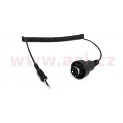 redukce pro transmiter SM-10: 6 pin DIN kabel do 3,5 mm stereo jack (BMW K 1200 LT), SENA