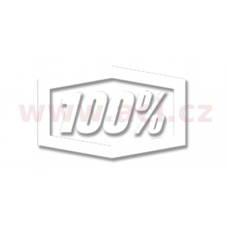 samolepka Trailer, 100% - USA (bílá)