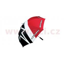 deštník, ALPINESTARS - Itálie (červený/černý/bílý)